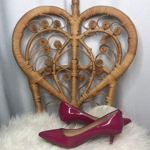 Michael Kors Patent Leather Heels NWOB